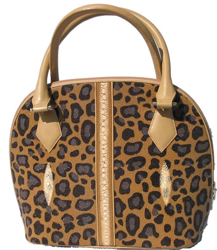 Stingray leather handbag