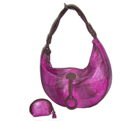 Bullfrog handbag in purple