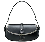 Fashionable cattle nappa handbag