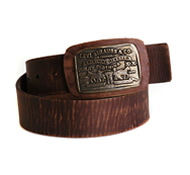 Horse leather belt